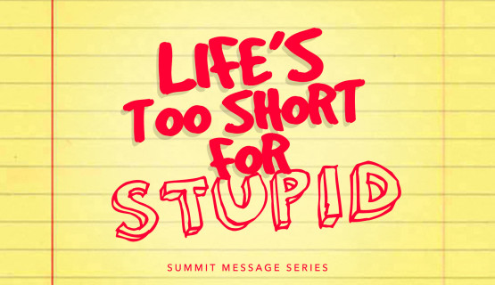 Life's Too Short for Stupid